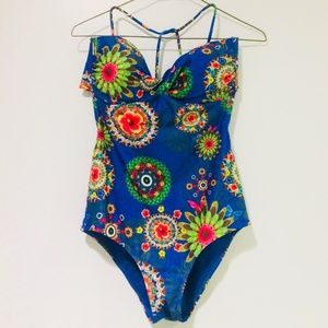 DESIGUAL Women's Lila One Piece Swimsuit